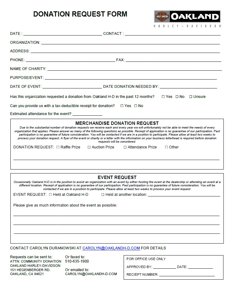 Address Request Form Public Information Request Public Information